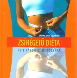 zsírégetés étrend